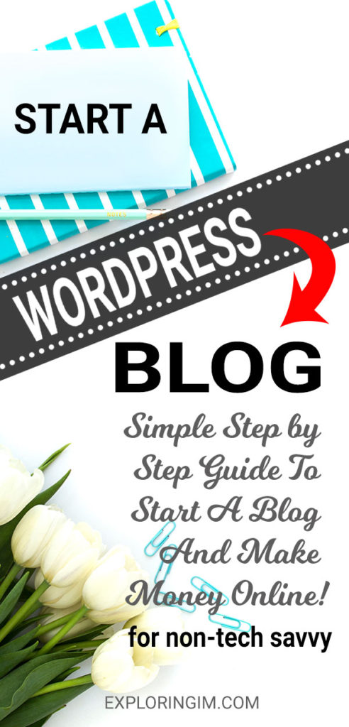 Start a blog in 4 simple steps