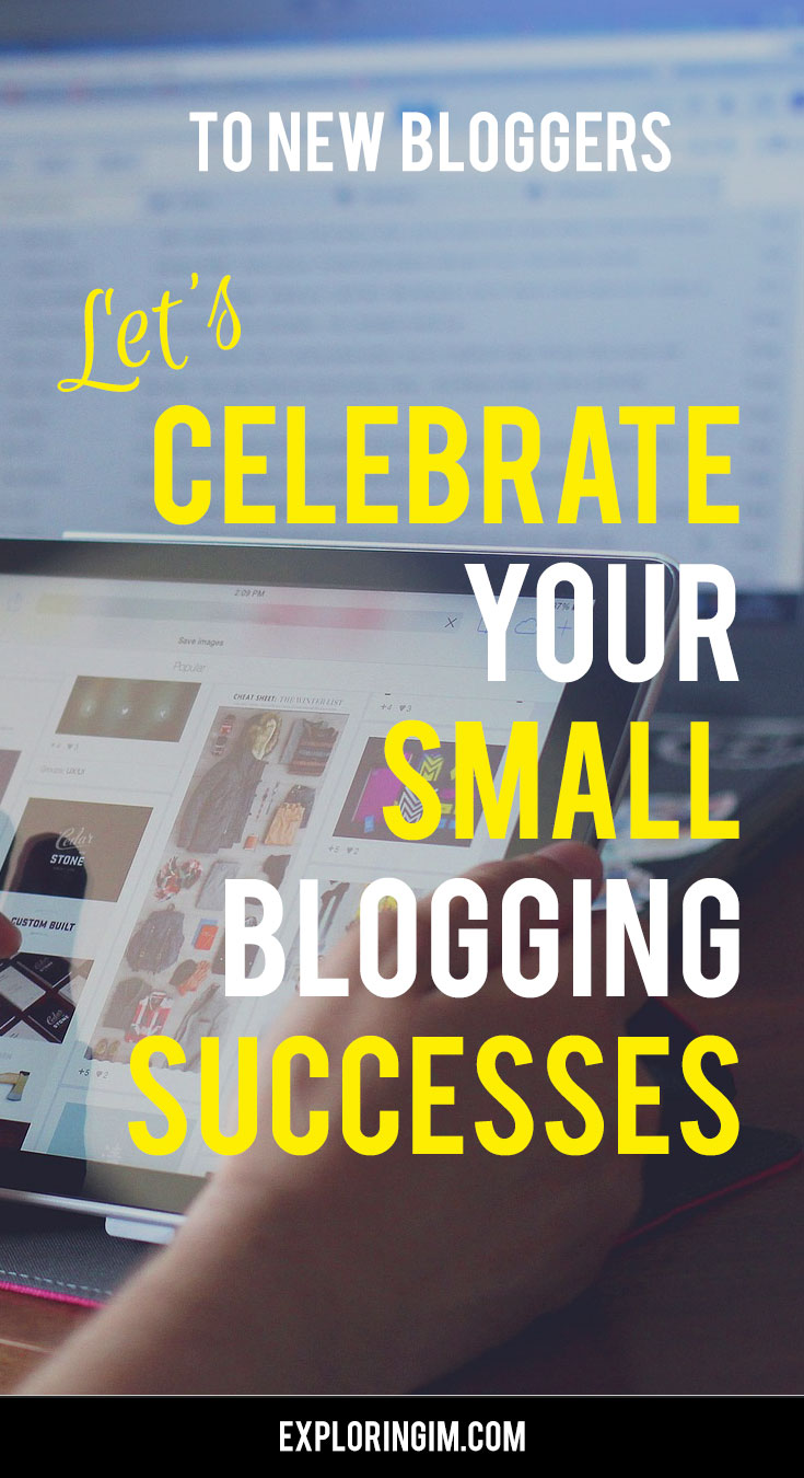Celebrate your small successes