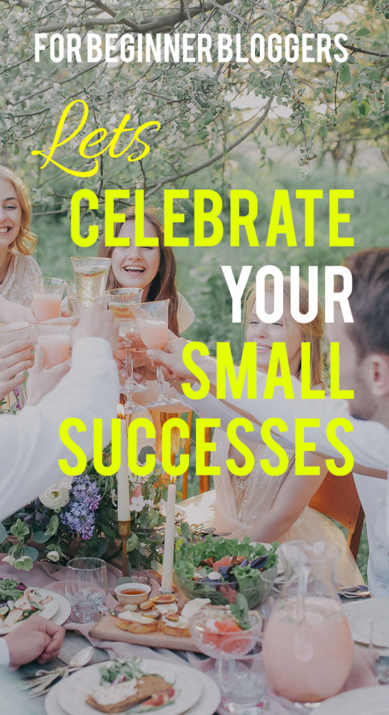 celebrate my small successes