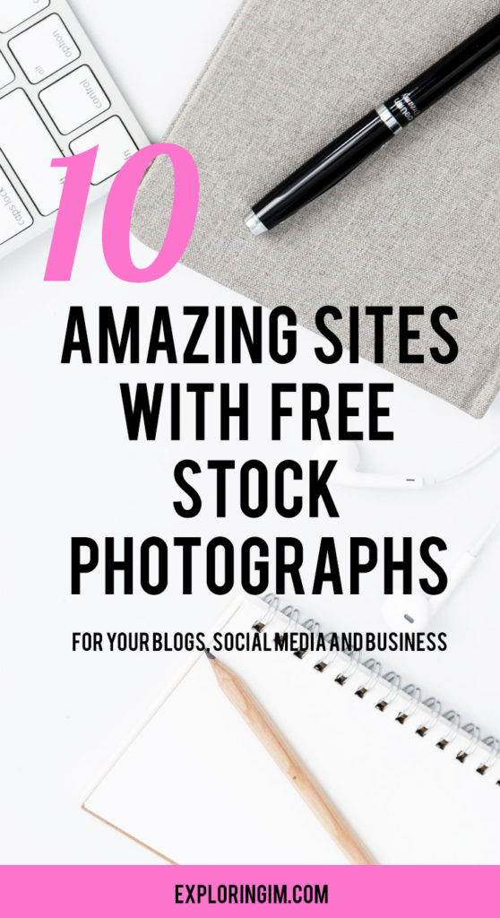 10 amazing sites with free stock photographs
