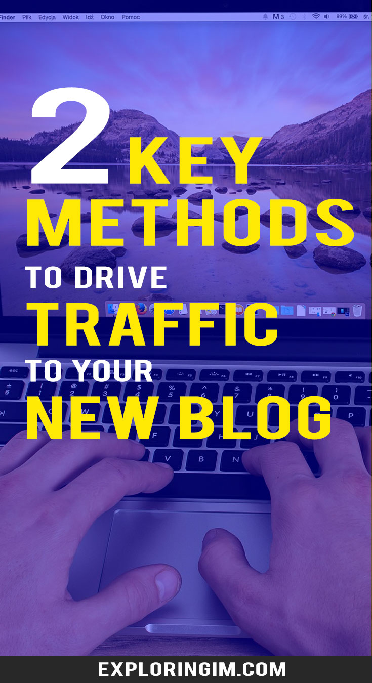 secret of driving massive traffic to your new blog