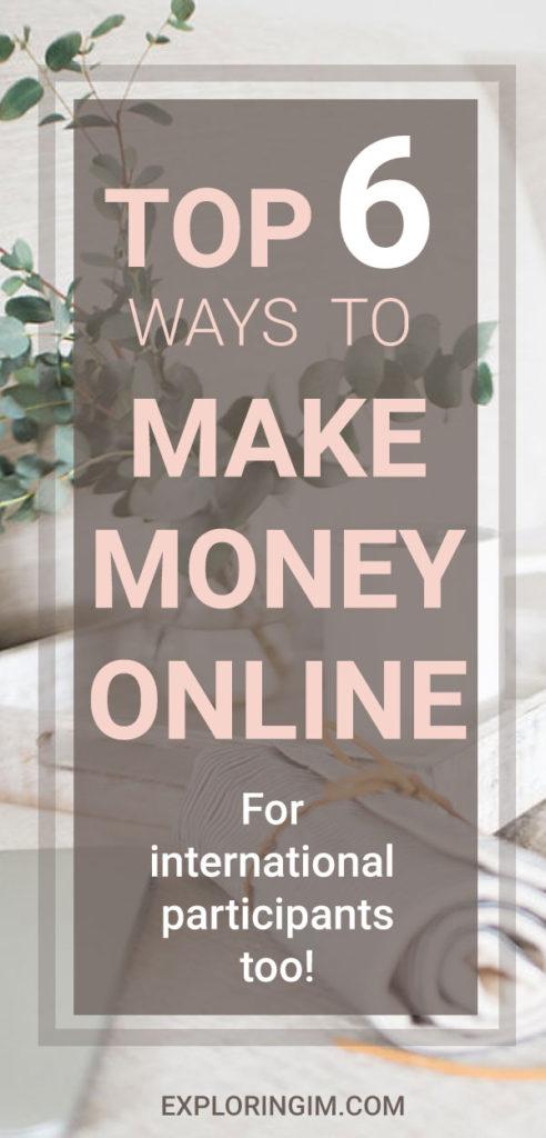 Top-6-ways-to-make-money-online