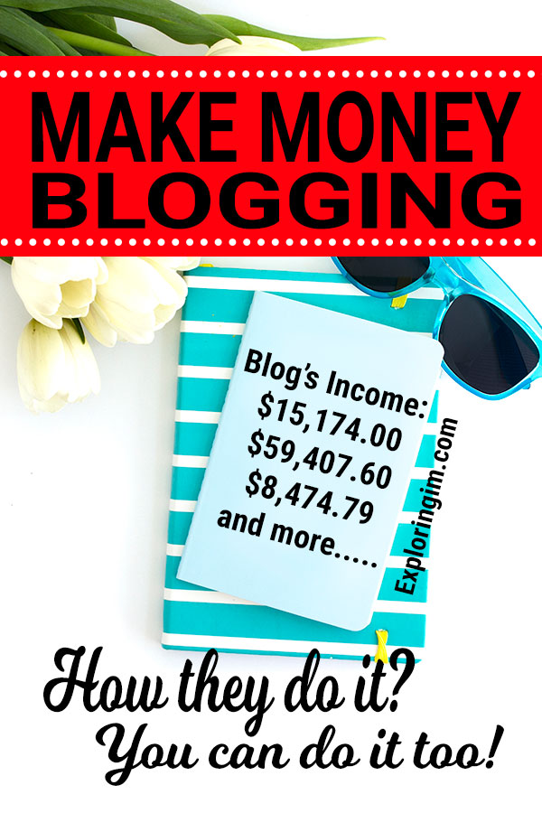 How Much Money Can You Make From Blogging. How they do it, you can do it too.
