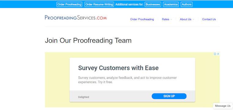Proofreading jobs